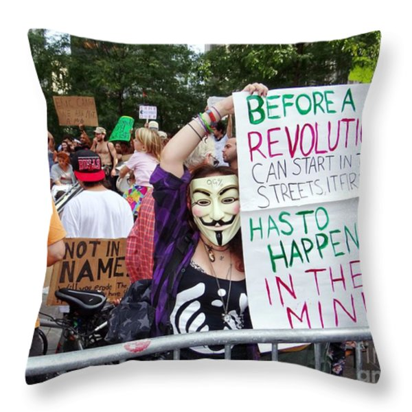 In The Mind Throw Pillow by Ed Weidman