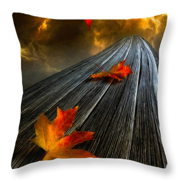 In The Storm Eye Throw Pillow by Veikko Suikkanen