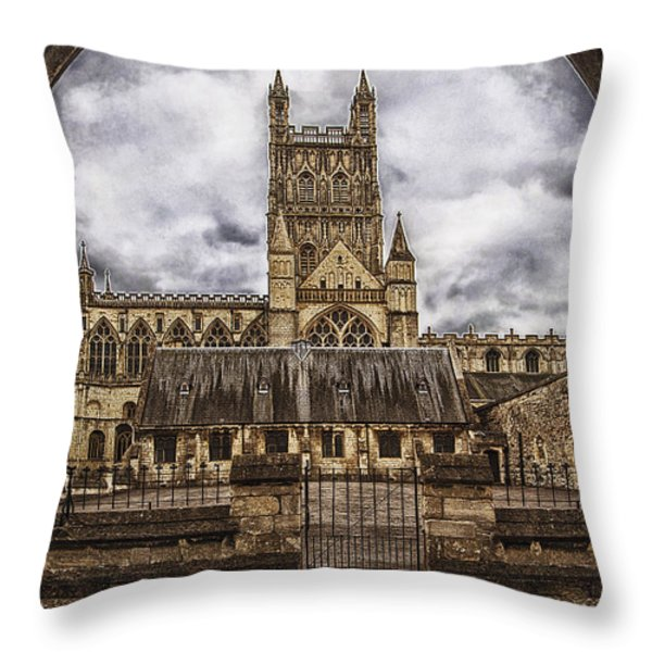 In the storm Throw Pillow by Gabriela Wernicke-Marfo