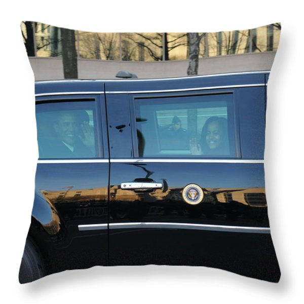 Inauguration Day Throw Pillow by Mountain Dreams