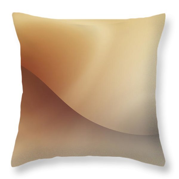 Incision Throw Pillow by Wim Lanclus