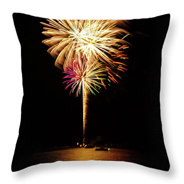 Independence Day Throw Pillow by George Buxbaum