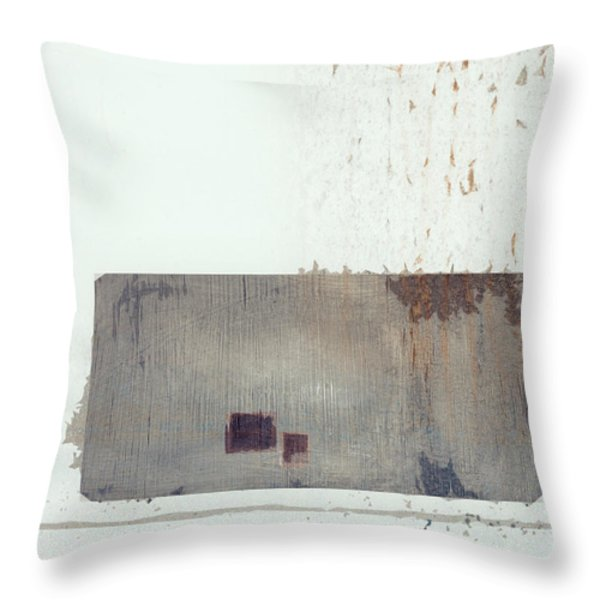 Industrial Park Throw Pillow by Carol Leigh