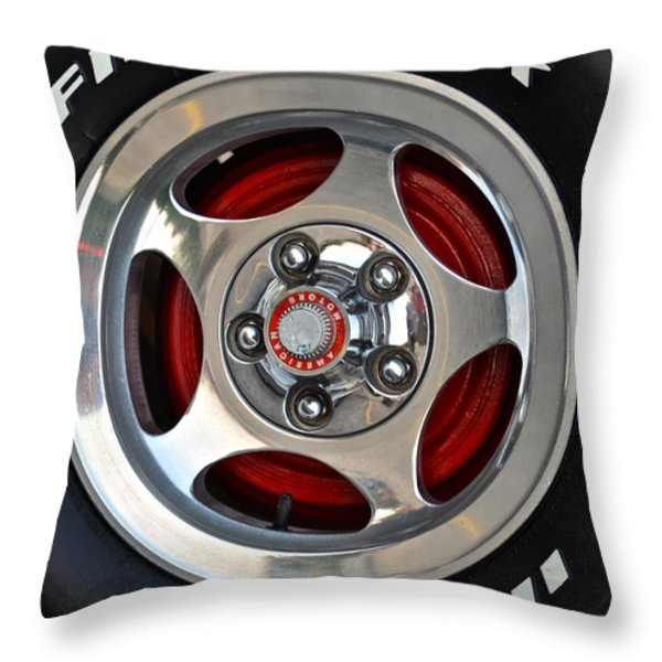 Indy 500 Throw Pillow by Frozen in Time Fine Art Photography