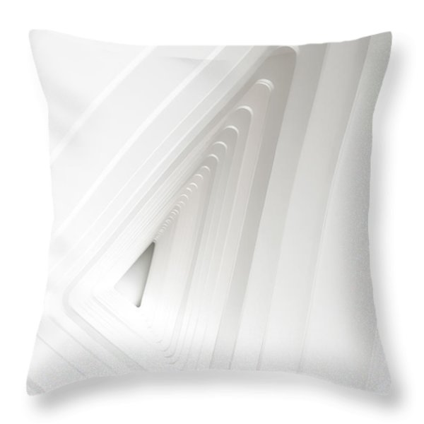 Infinite Arches Throw Pillow by Scott Norris