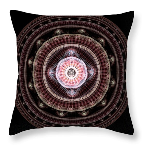 Inner Calm Throw Pillow by Anastasiya Malakhova
