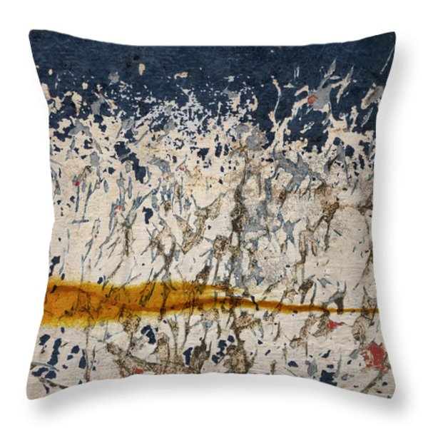 Inner Fire Throw Pillow by Carol Leigh