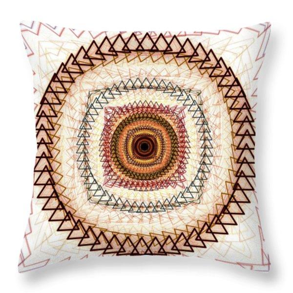 Inner Purpose Throw Pillow by Anastasiya Malakhova