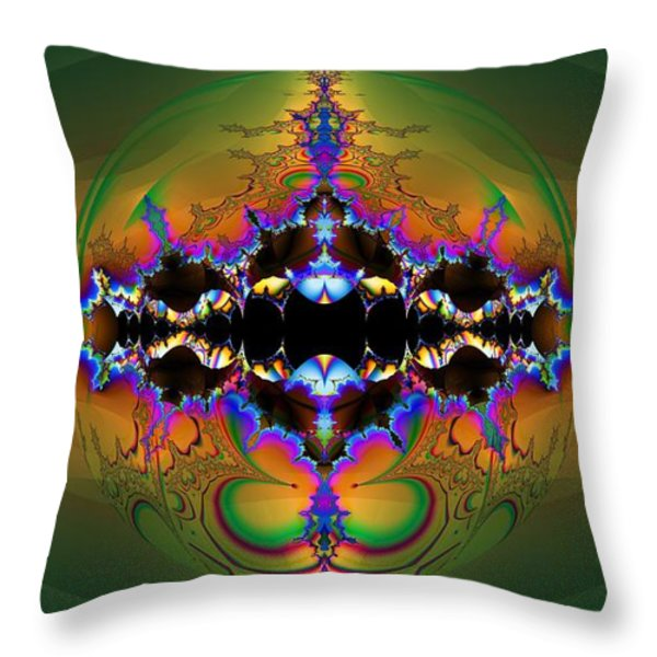 Insight Throw Pillow by Elizabeth McTaggart