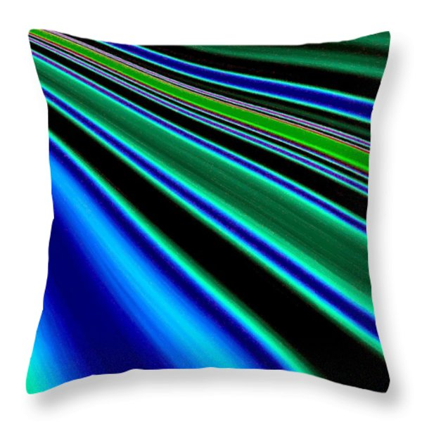 Inspiration 2 Throw Pillow by Will Borden