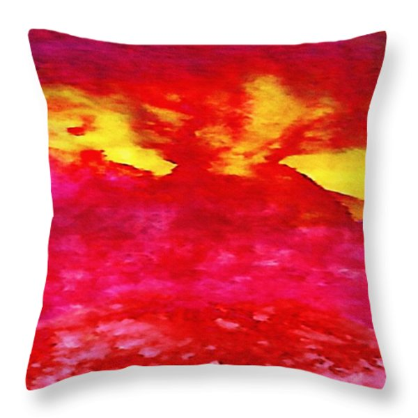 Interactions 4 Throw Pillow by Amy Vangsgard