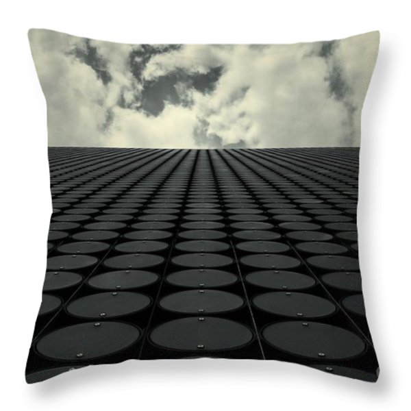 Interdimensional Throw Pillow by Andrew Paranavitana