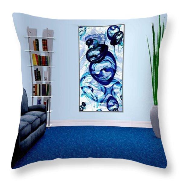 Interior Design Idea - Immiscible Throw Pillow by Anastasiya Malakhova