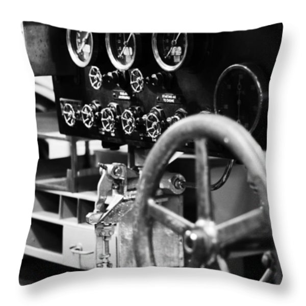 Internal Mechanics Uss Bowfin V4 Throw Pillow by Douglas Barnard