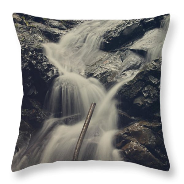 Interruptions Throw Pillow by Laurie Search