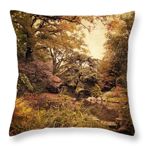 Intimate Landscape Throw Pillow by Jessica Jenney