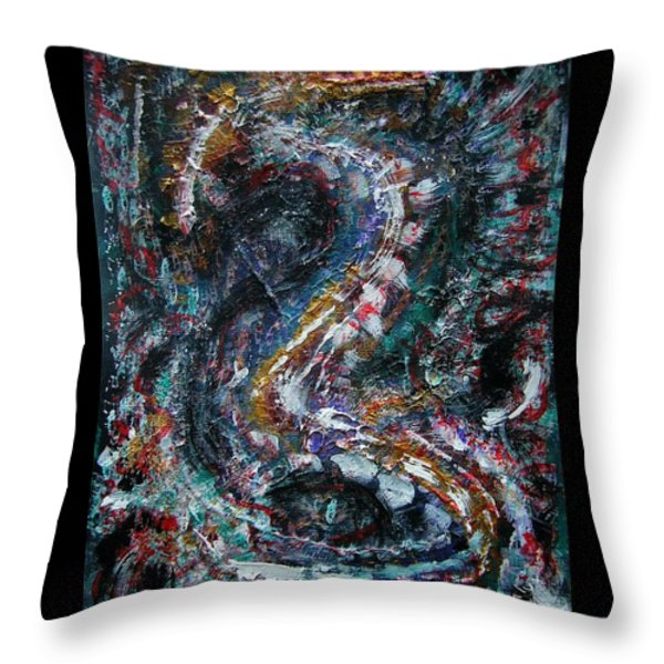 Into Eternity Throw Pillow by Mimulux patricia no