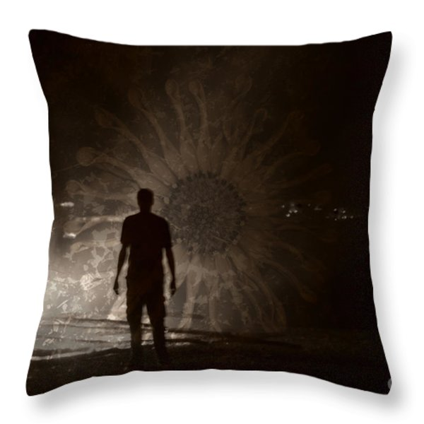 Into The Fire 2013 Throw Pillow by Joseph Duba
