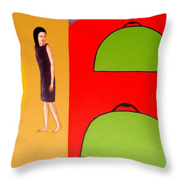 Into The Light 1 Throw Pillow by Patrick J Murphy