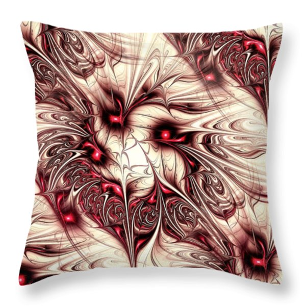 Invasion Throw Pillow by Anastasiya Malakhova