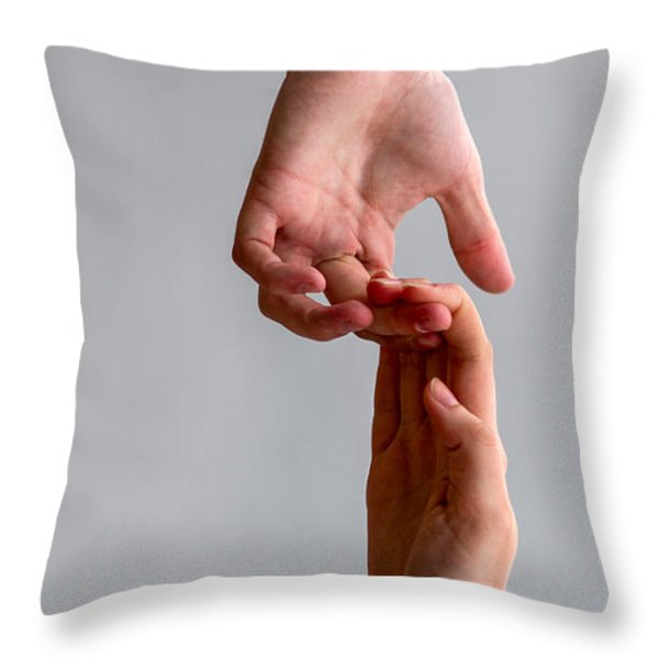 iPhone Case - He And She Throw Pillow by Alexander Senin