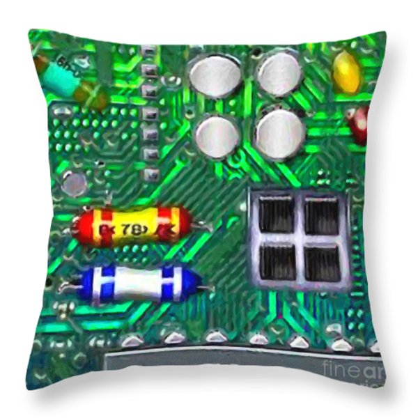 Iphone I-art Square Throw Pillow by Wingsdomain Art and Photography