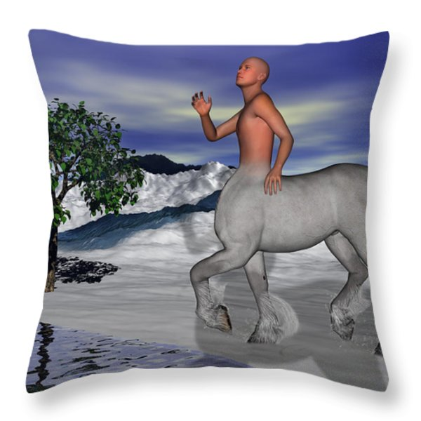 Is There Anyone Like Me Throw Pillow by Betsy A  Cutler
