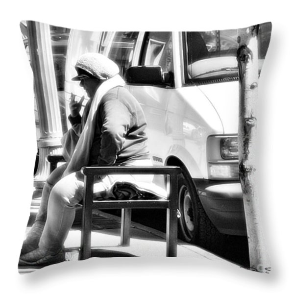 Is This Life Throw Pillow by Dan Stone