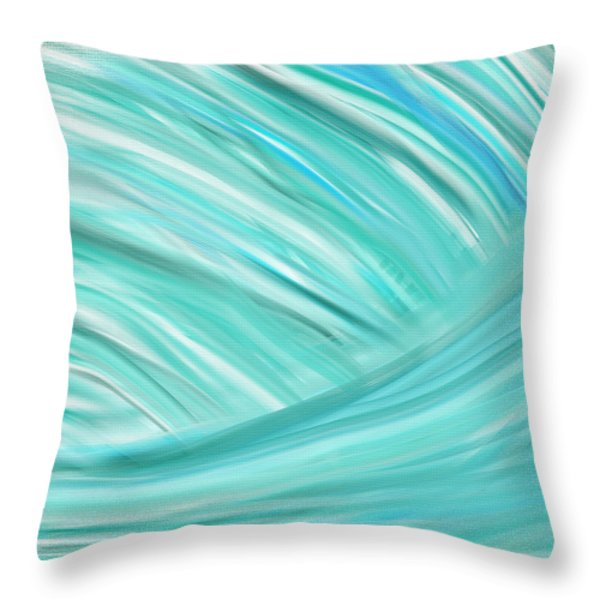 Island Time Throw Pillow by Lourry Legarde