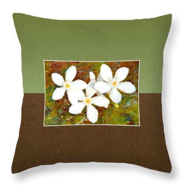 Islander-no1 Throw Pillow by Darla Wood