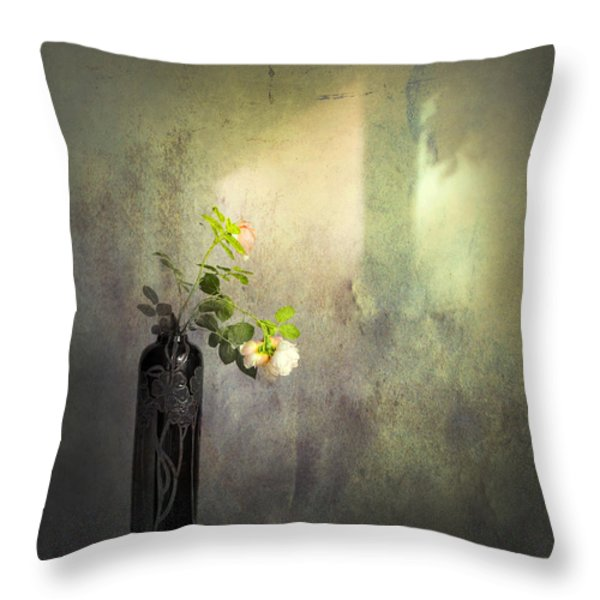 Isn't It Romantic Throw Pillow by Theresa Tahara