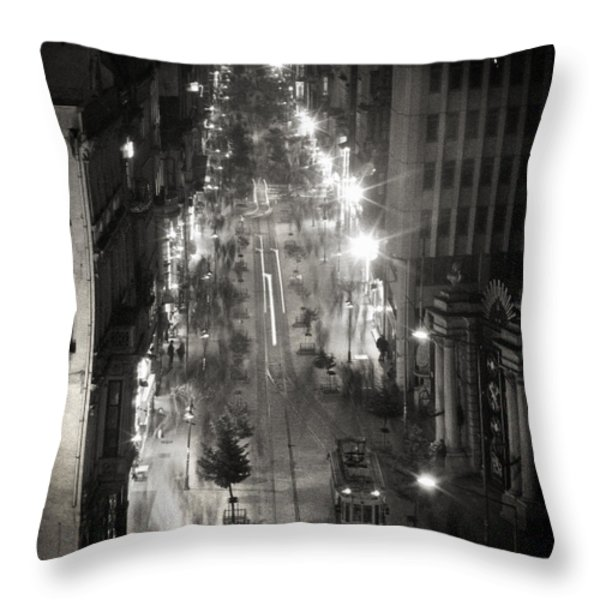 Istiklal Throw Pillow by Taylan Soyturk