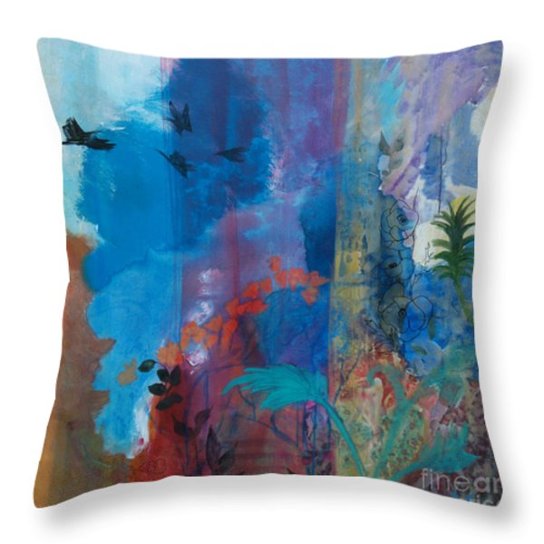 It Ain't A Fable Baby Throw Pillow by Robin Maria  Pedrero