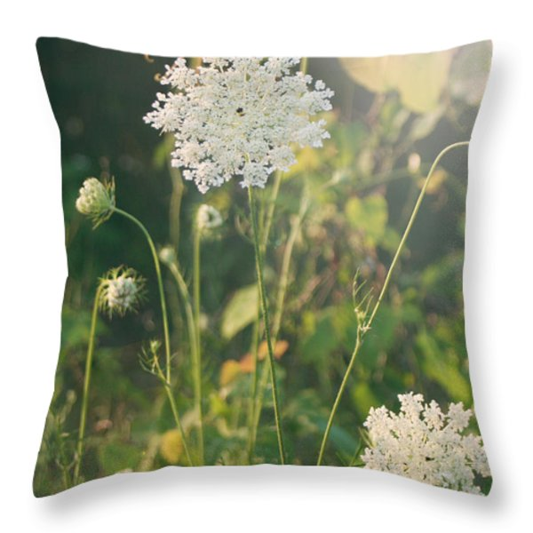 It Was a Summer of Love Throw Pillow by Laurie Search