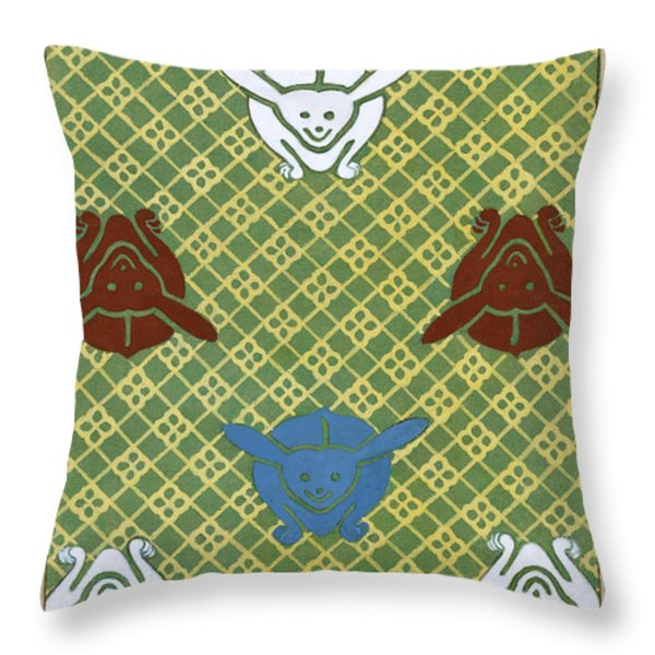 Ito Nishiki  Throw Pillow by Nomad Art And  Design