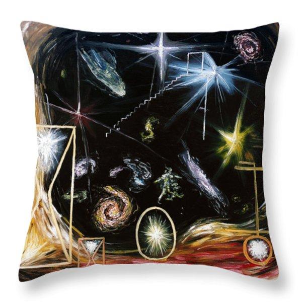 It's Full Of Stars  Throw Pillow by Ryan Demaree