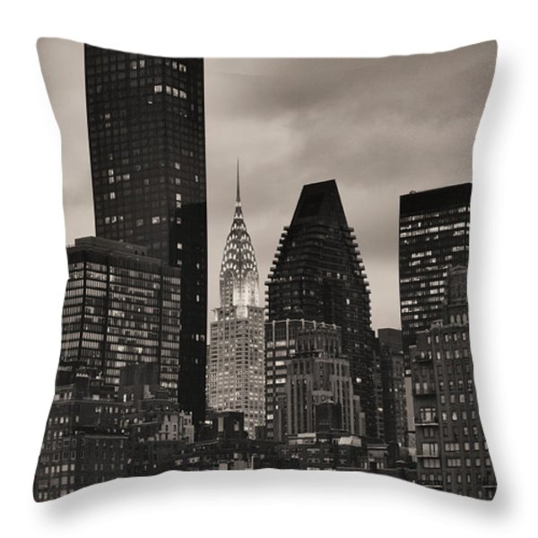 Its Relative  Throw Pillow by JC Findley