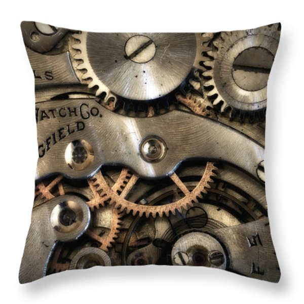 It's Time Throw Pillow by Robert Woodward