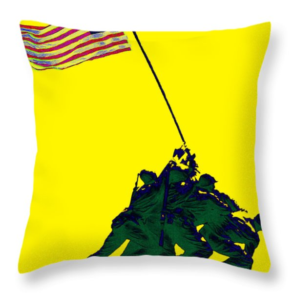 Iwo Jima 20130210p118 Throw Pillow by Wingsdomain Art and Photography
