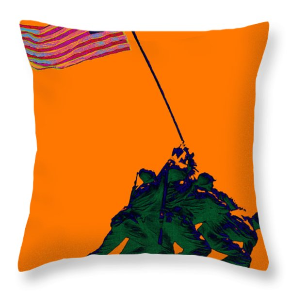 Iwo Jima 20130210p88 Throw Pillow by Wingsdomain Art and Photography