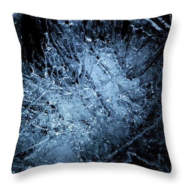 jammer Frozen Cosmos Throw Pillow by First Star Art