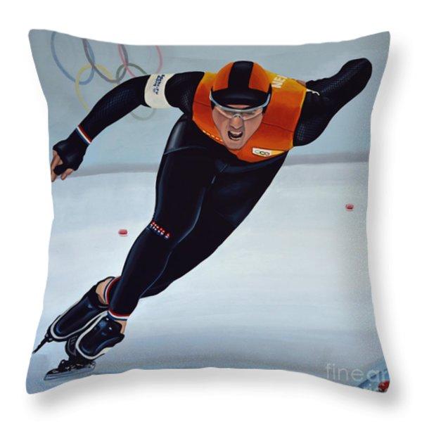 Jan Smeekens Throw Pillow by Paul Meijering
