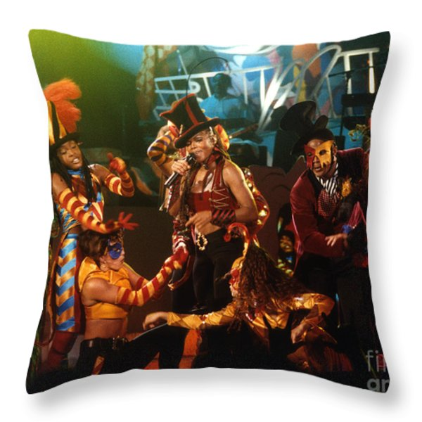 Janet-94-escapade Throw Pillow by Gary Gingrich Galleries