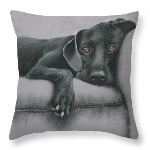 Jasper Throw Pillow by Cynthia House