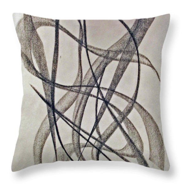 Jazz Throw Pillow by John Neumann
