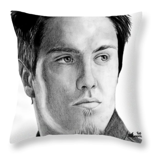 Jeremy Dunn Throw Pillow by Kayleigh Semeniuk