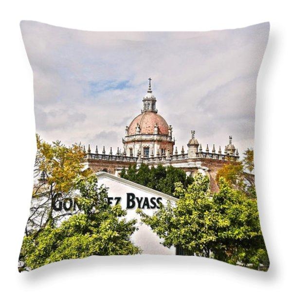 Jerez de la Frontera - Spain Throw Pillow by Juergen Weiss