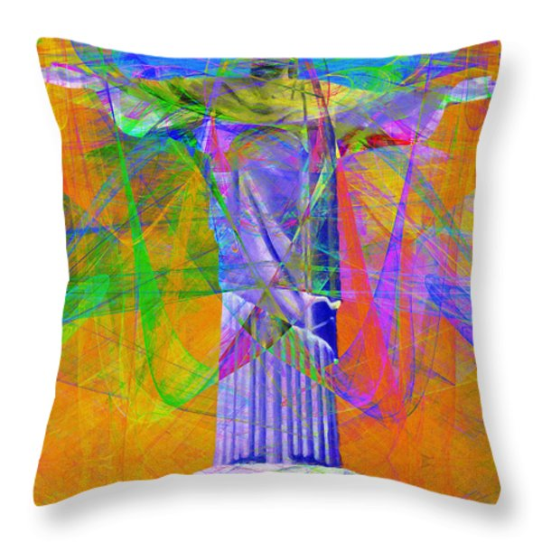 Jesus Christ Superstar 20130617 Throw Pillow by Wingsdomain Art and Photography