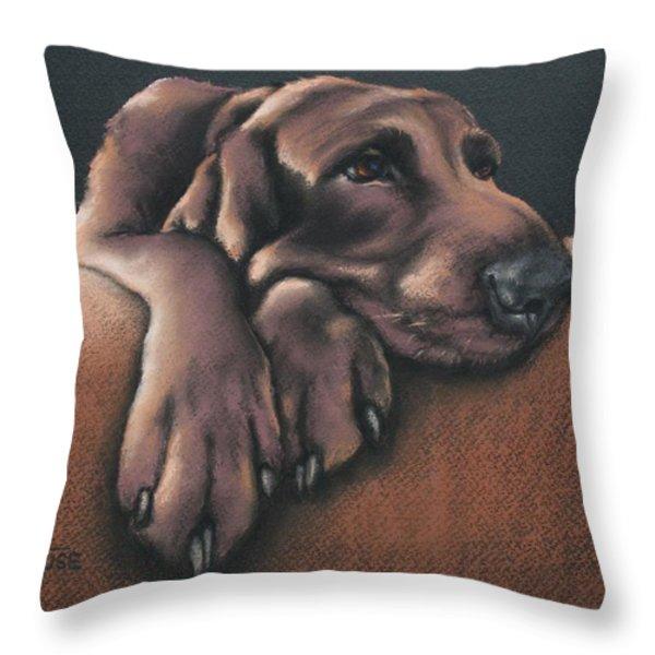 Jethro Throw Pillow by Cynthia House