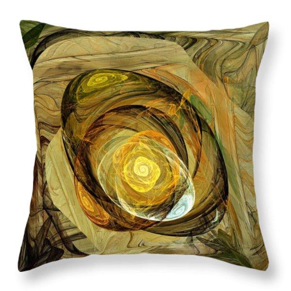Jewelry Box Throw Pillow by Anastasiya Malakhova